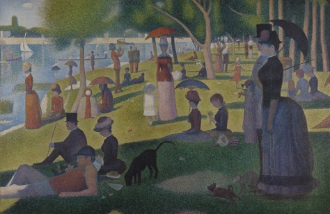 Seurat Sunday on the Lake